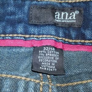 A.N.A. Boot Cut Jeans, size 32/14